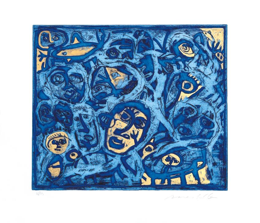 Tribale blu